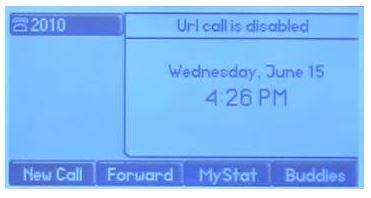 TT – Phone Landline – URL Error – CEG Help Desk